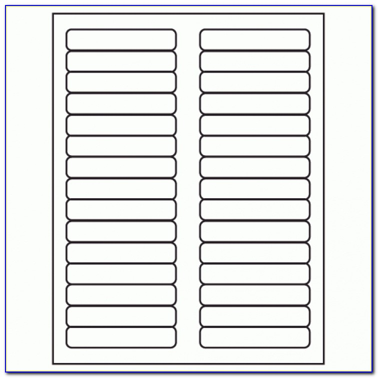 Avery Big Tab Inserts Template