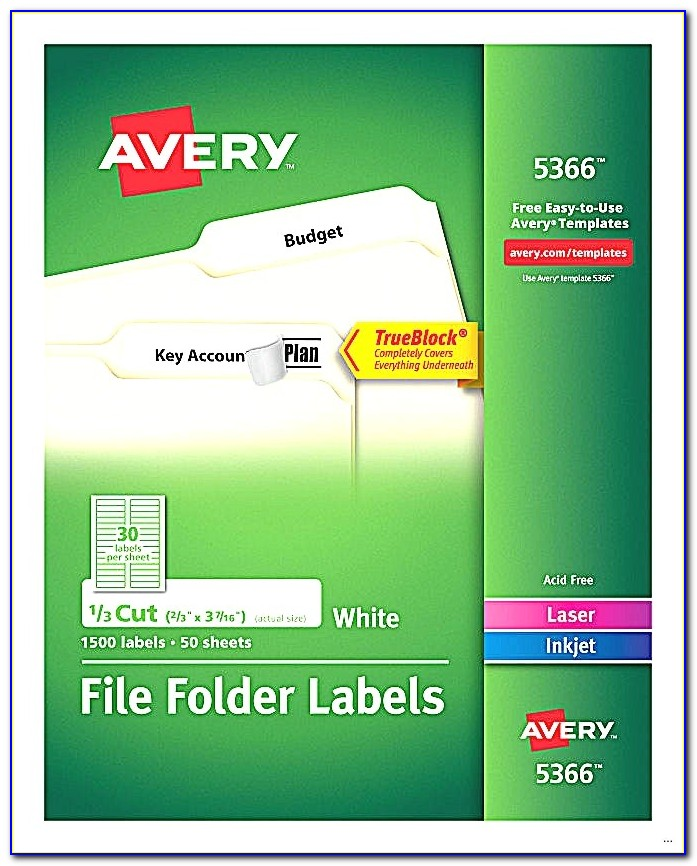 Free Template For Avery 5366 File Folder Labels Avery Template 5266 Free Download Avery 5266 Template