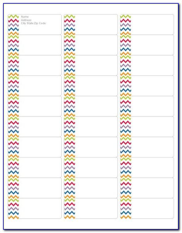 Avery Free Printable Address Label Templates