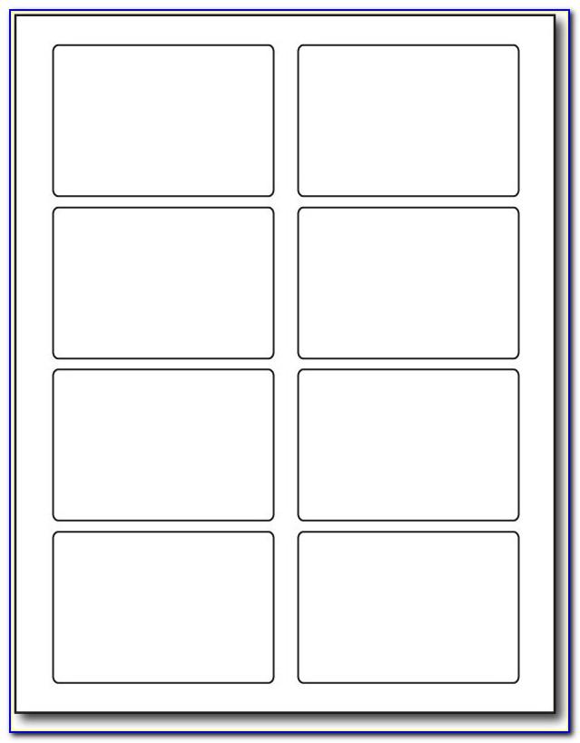 Avery Self Adhesive File Folder Labels 8 Per Sheet Template