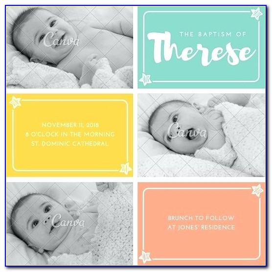 Baby Christening Invitation Ideas