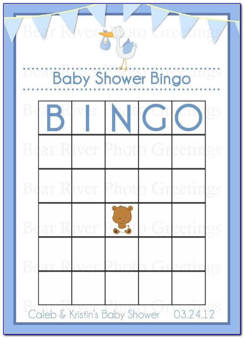 Baby Shower Bingo Cards To Print