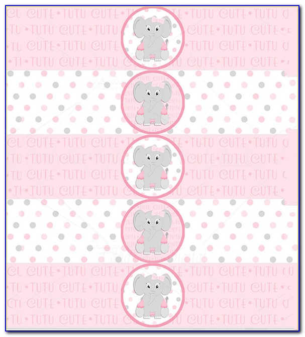 Baby Shower Labels Templates Free