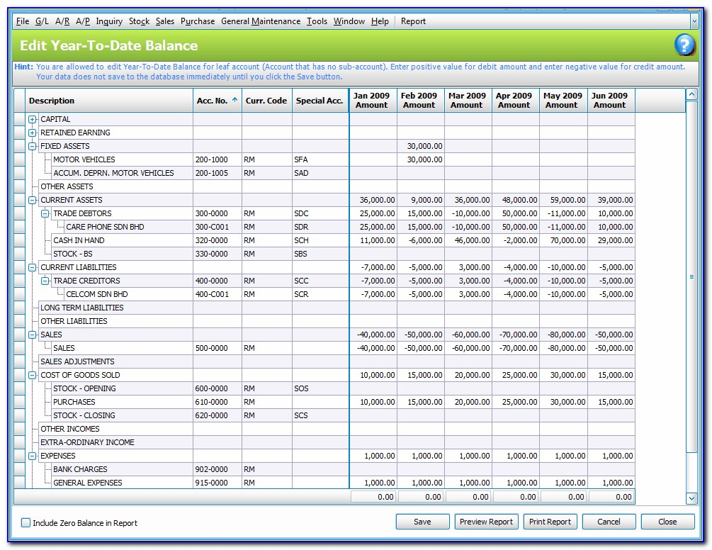 Balance Sheet Account Reconciliation Template