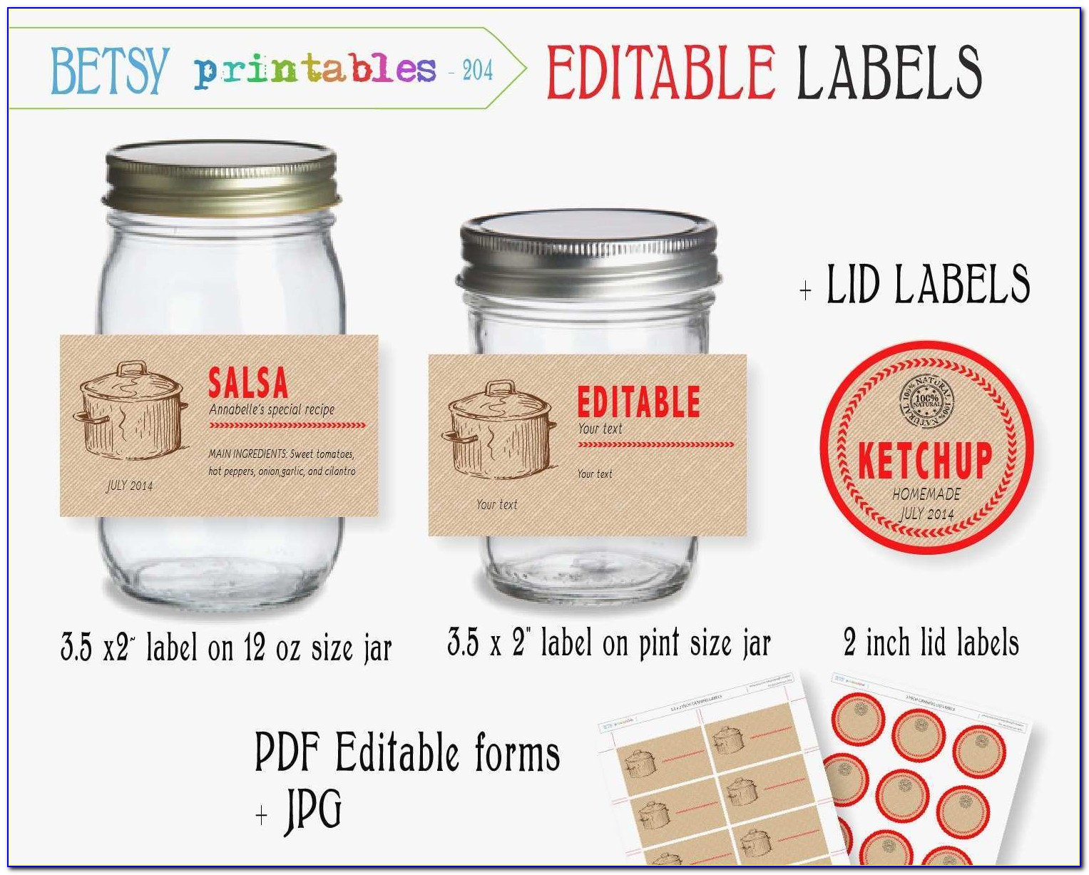 Ball Mason Jar Label Template Unique Jar Label Template Free Printable Canning Labels