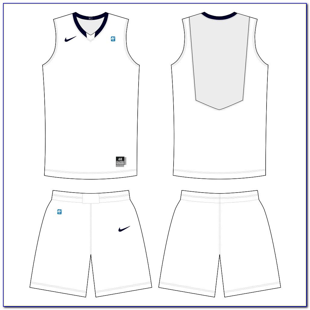 Basketball Jersey Design Template Psd