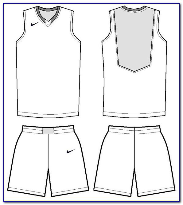 Basketball Jersey Design Templates Free