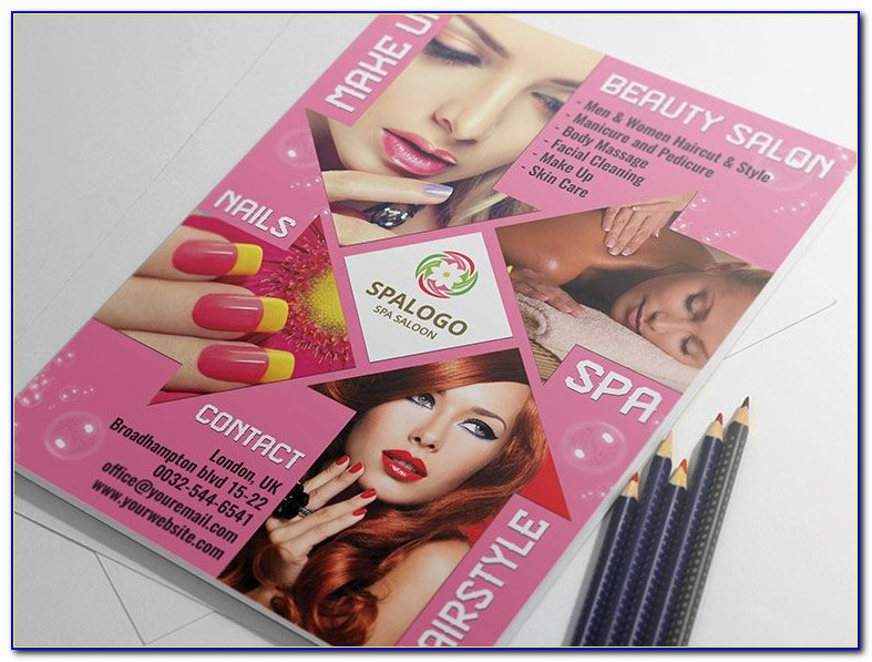 Beauty Salon Flyer Templates Psd Free Download
