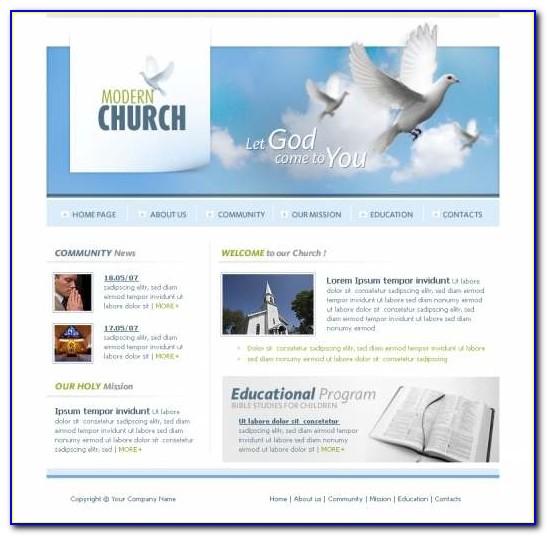 Best Church Website Templates