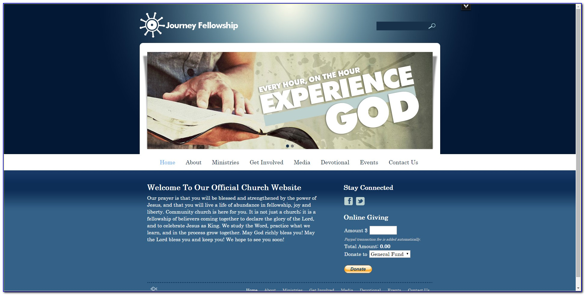 Best Church Website Themes
