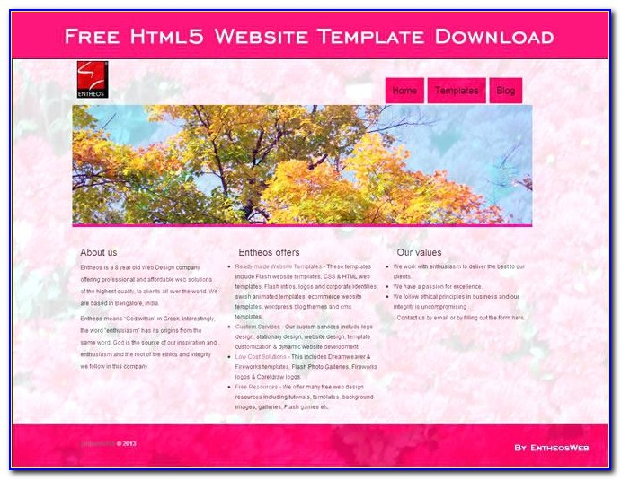 Best Html Website Templates Free Download
