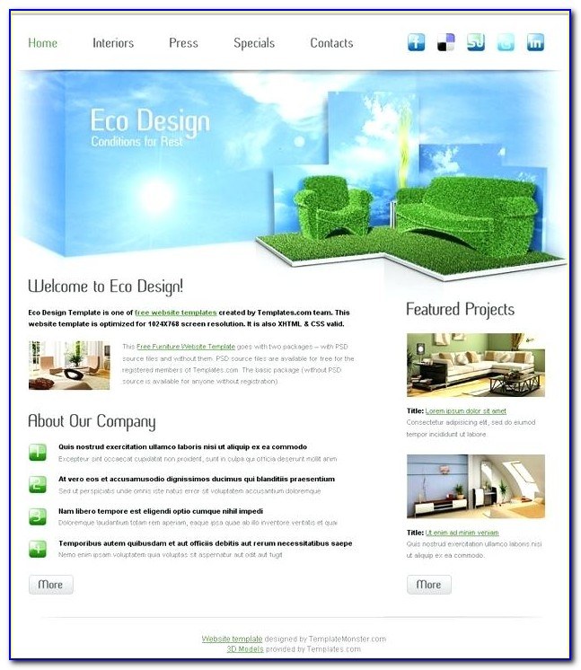 Best Responsive Web Template