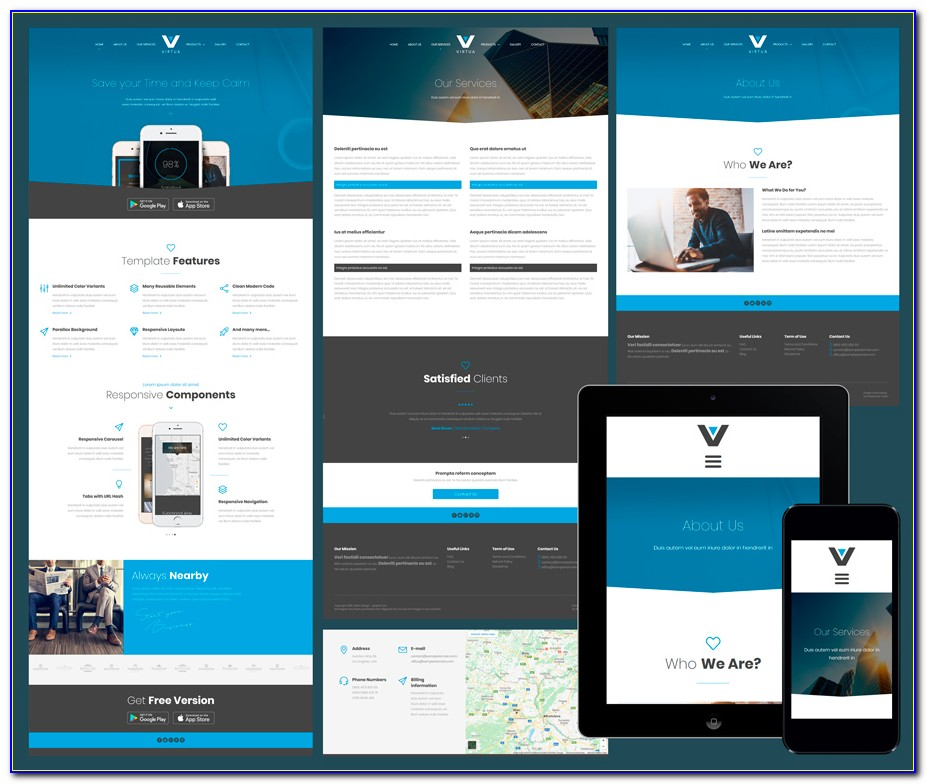 Best Responsive Website Templates