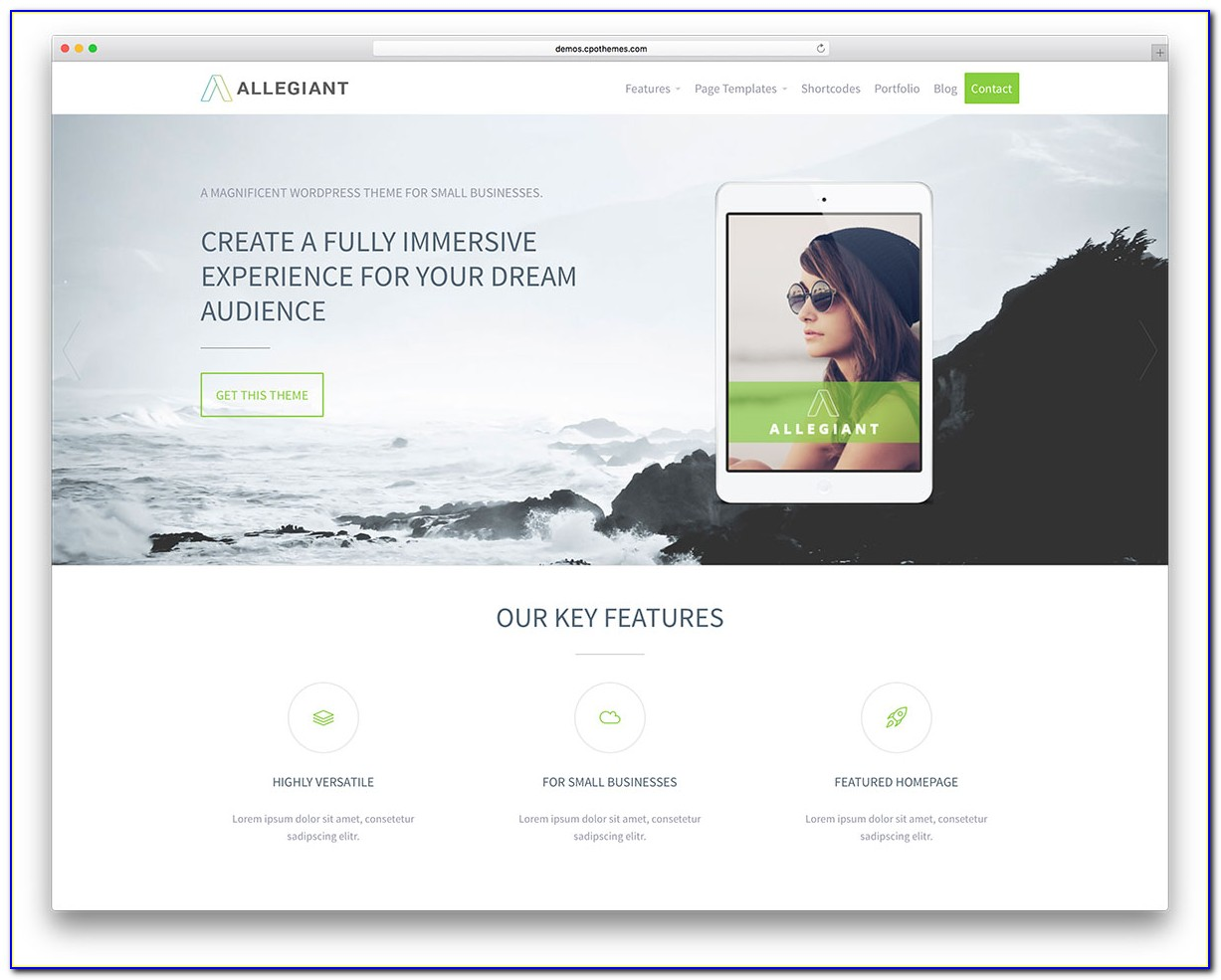 Best Wordpress Premium Templates