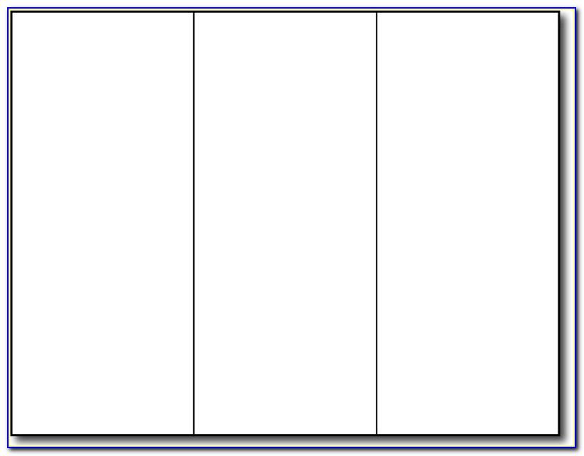 Free Blank Bi Fold Brochure Template Blank Brochure Template For Word Free Blank Tri Fold