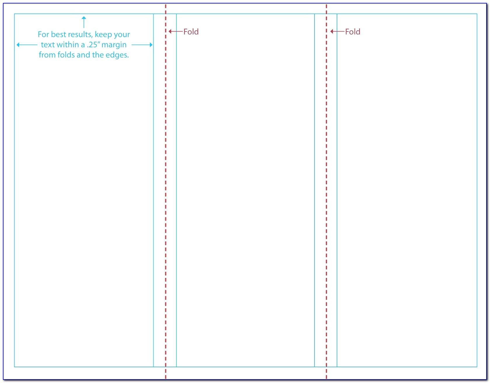 Bi Fold Pamphlet Template Open Office