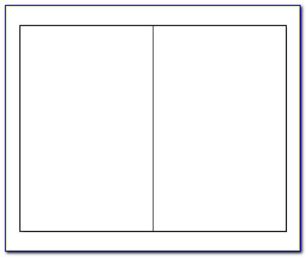 Bi Fold Pamphlet Template Word