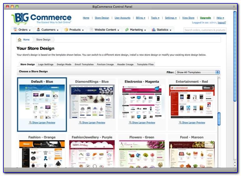 Bigcommerce Template File