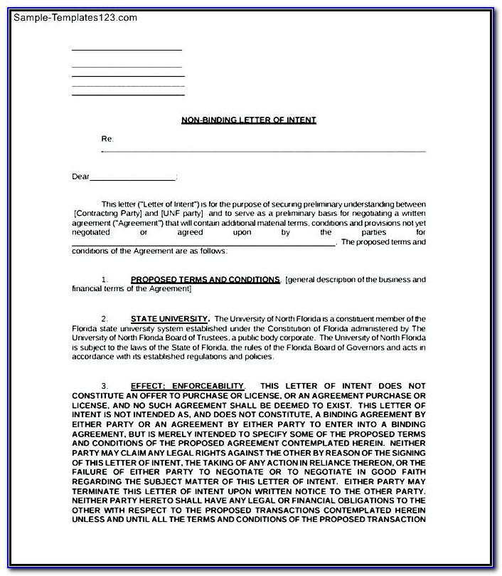 Binding Financial Agreement Sample