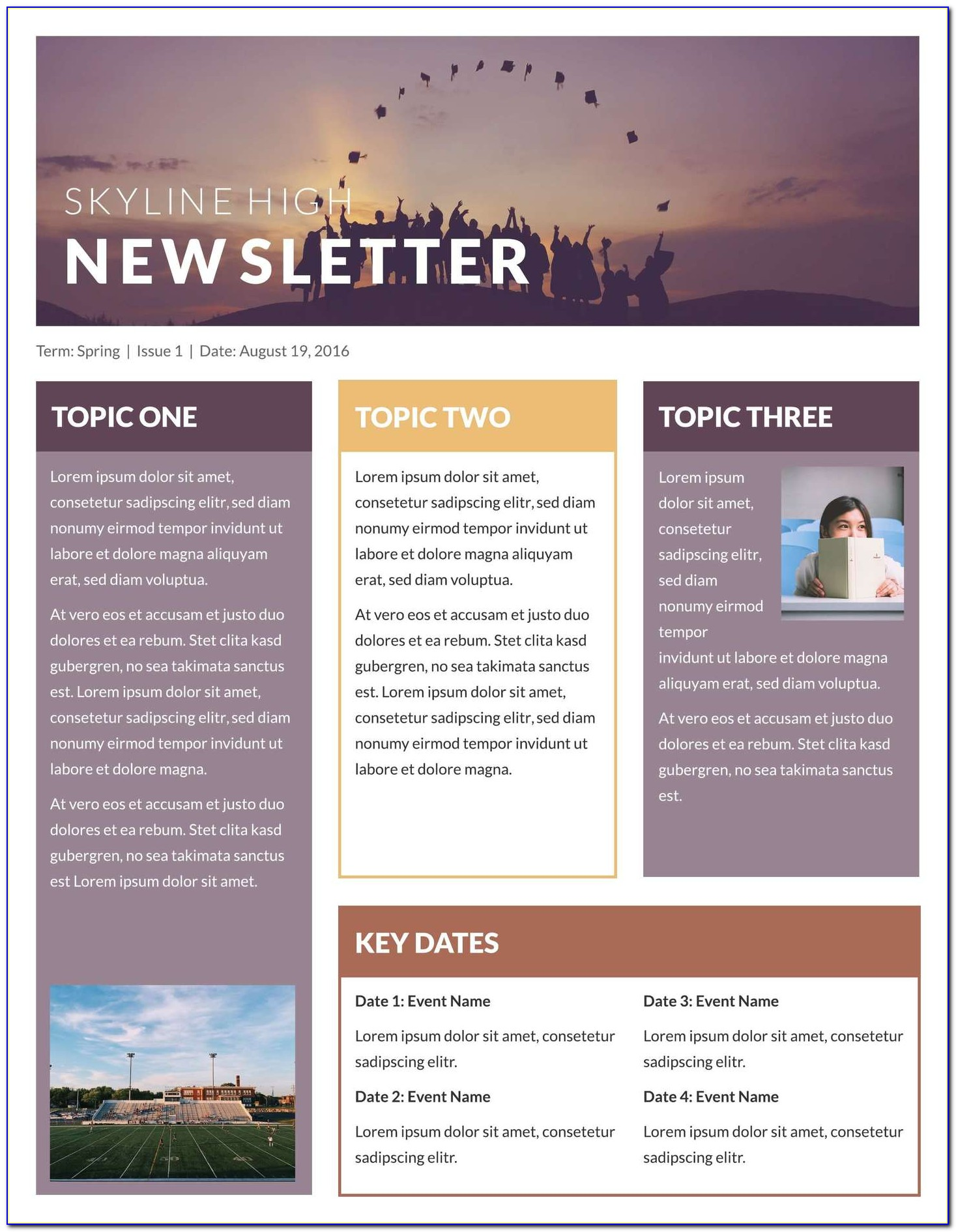 Business Email Newsletter Templates Free Download