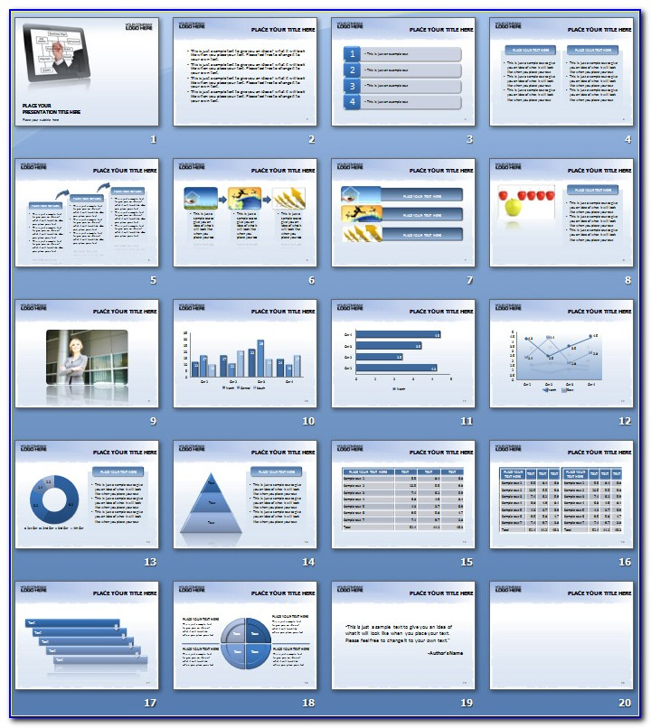 Business Plan Ppt Templates Free Download