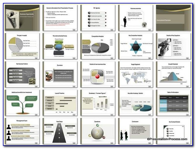 Business Plan Ultimate Powerpoint Template Free Download