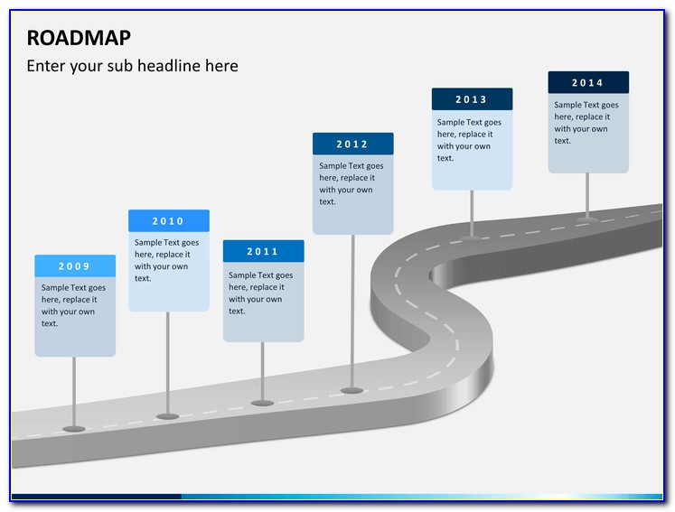 Career Roadmap Template Powerpoint Free Download
