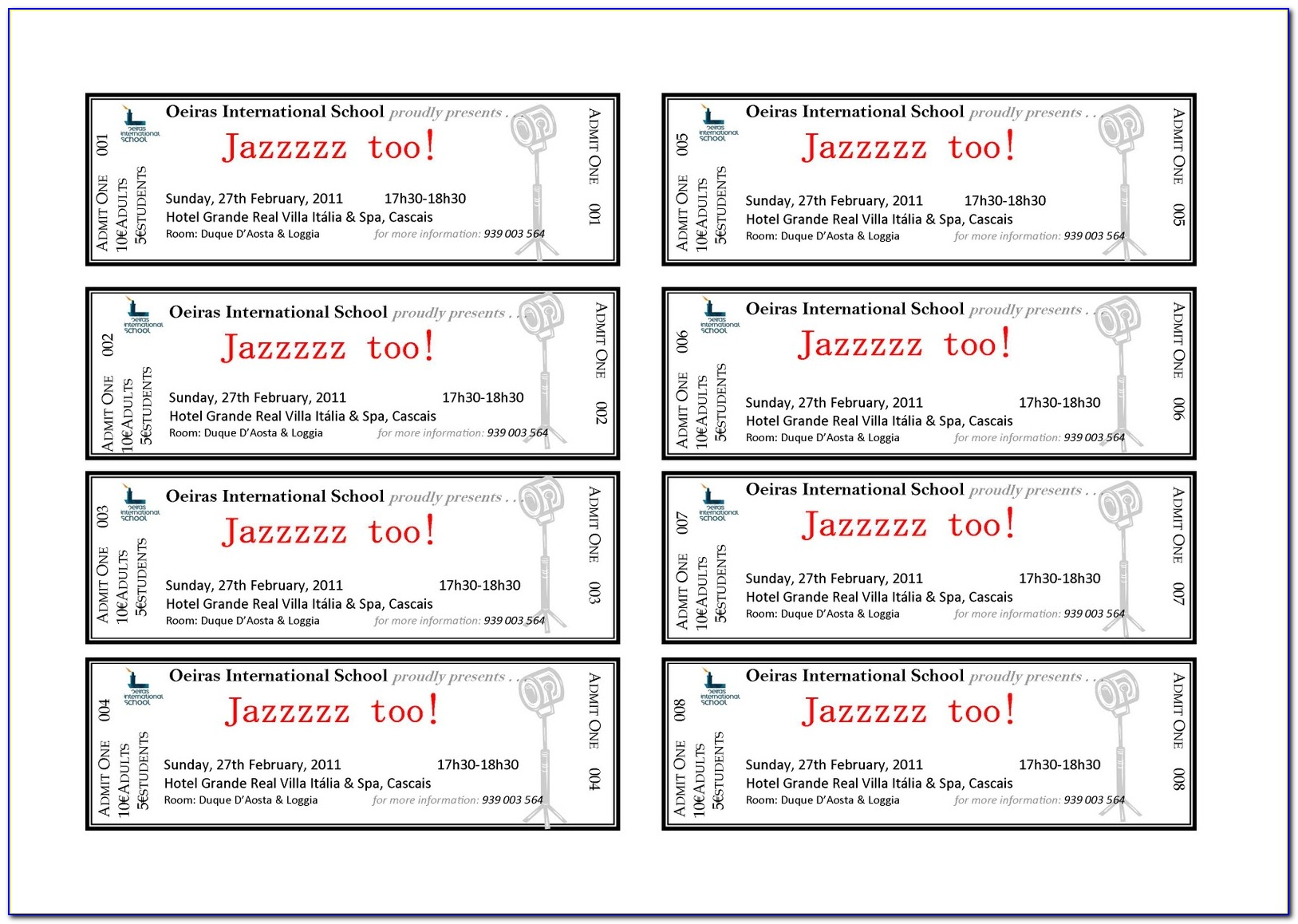 Christmas Party Ticket Template Free Download