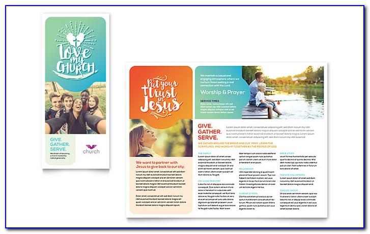 Church Event Brochure Templates Free