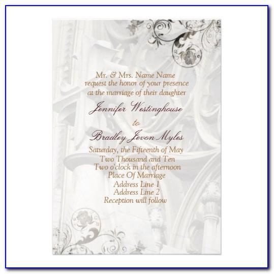 Church Event Invitation Templates