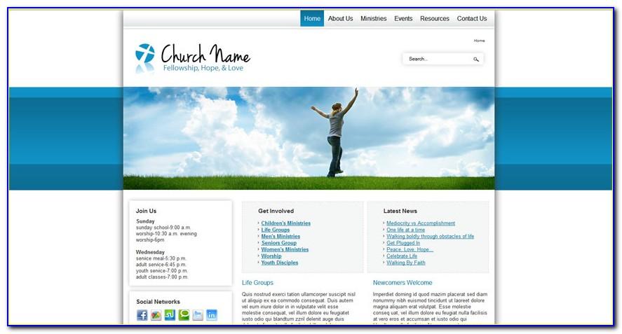Church Joomla Template