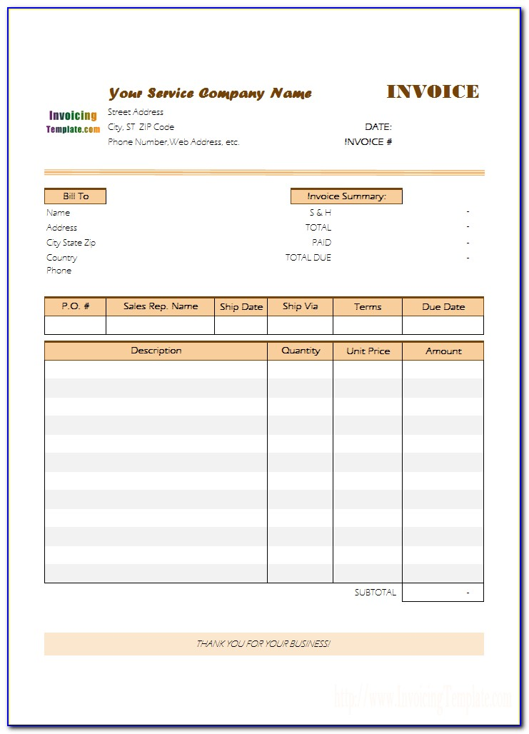 Client Invoice Tracker Template