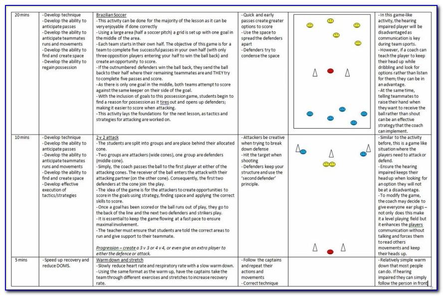 Coaching Portfolio Template