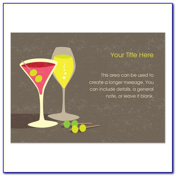 Cocktail Party Invitation Cards Online