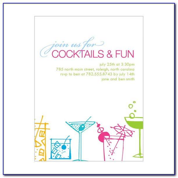 Cocktail Party Invitation Maker