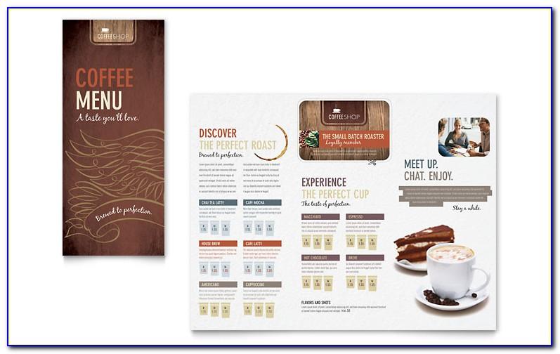 Coffee Menu Template Free Download