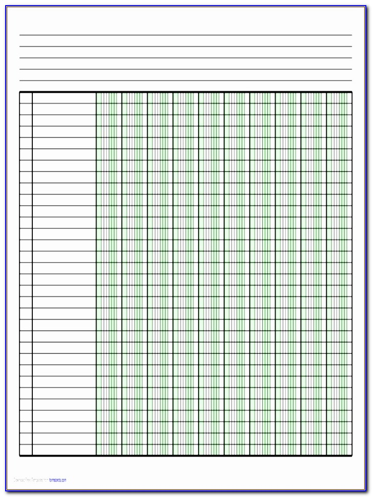Excel Ledger Templates Free Hidin Lovely Columnar Pad Paper 63 Free Templates In Pdf Word Excel