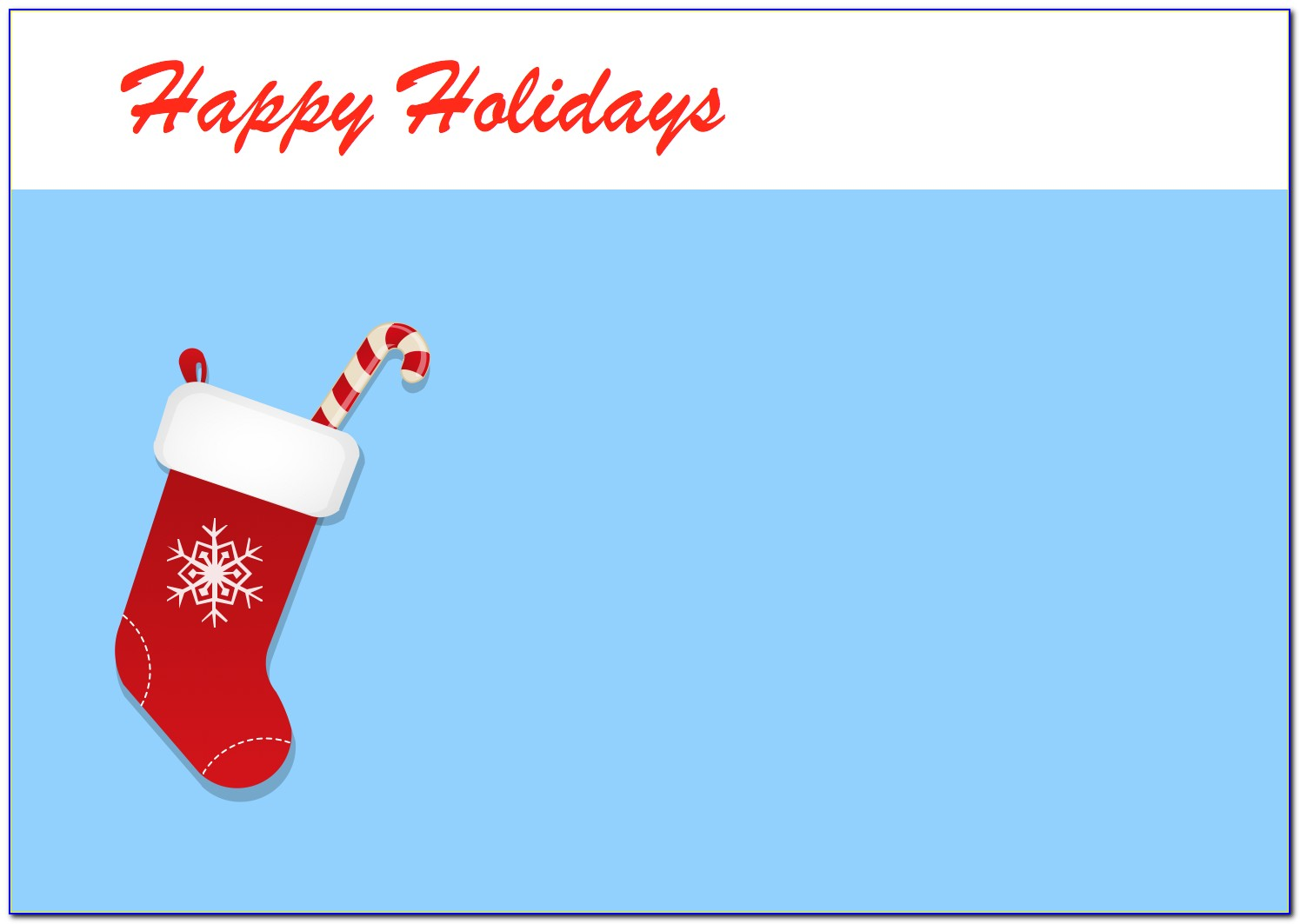 Corporate Holiday Ecards Templates