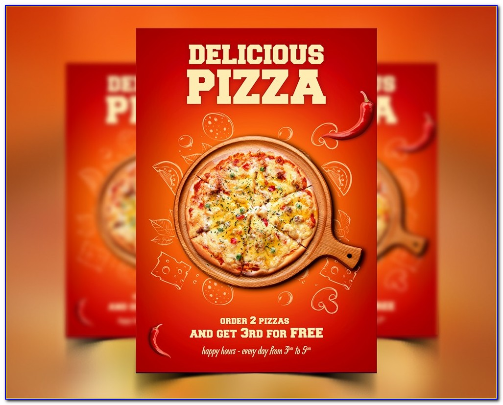 Create Pizza Menu Templates Free