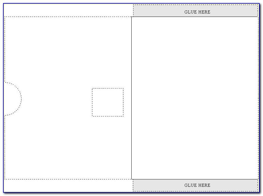 Cricut Pocket Envelope Template