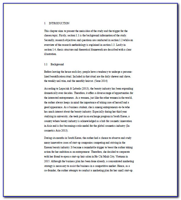 Day Spa Business Plan Template Free