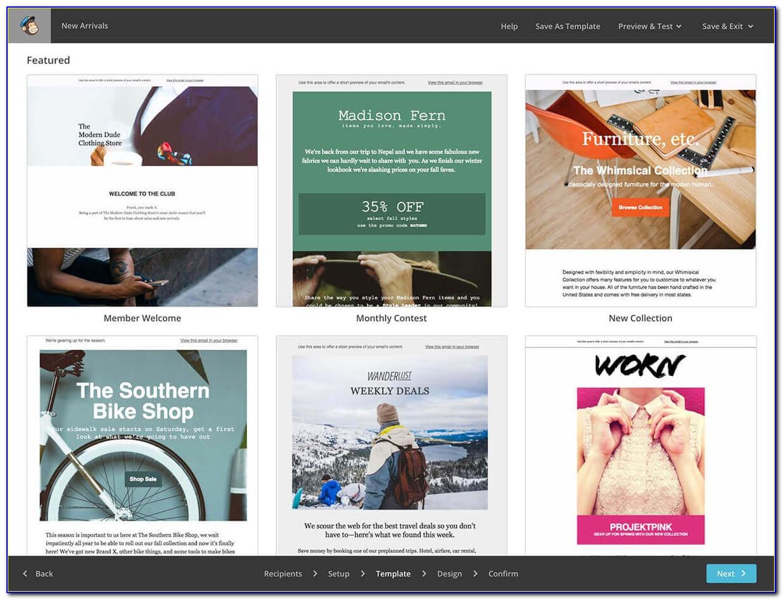Design A Mailchimp Campaign