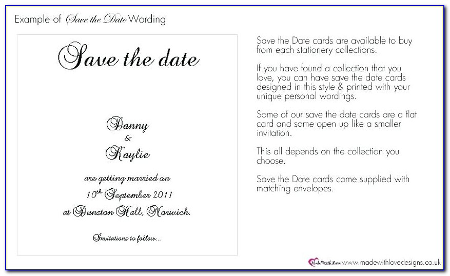 Destination Wedding Save The Date Email Template