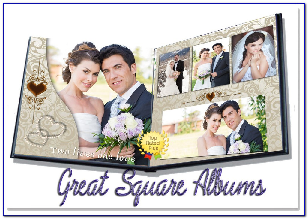 Digital Wedding Album Templates Free