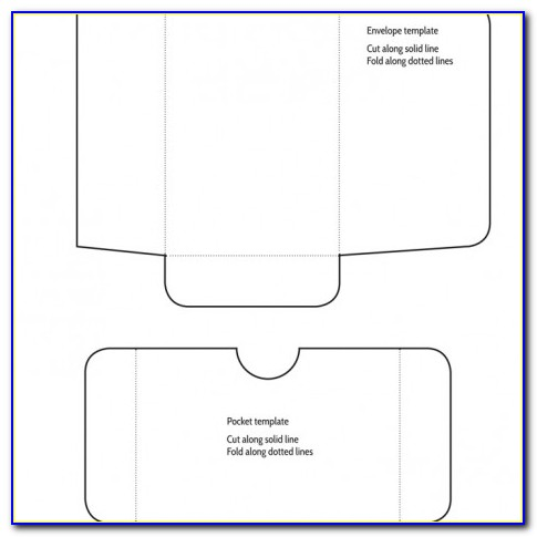 Dl Pocket Envelope Template