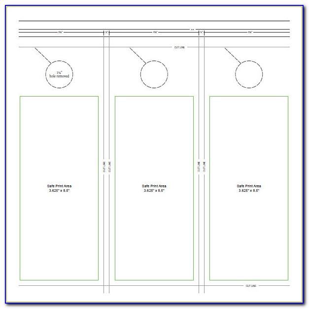 Door Hanger Flyers Template Free