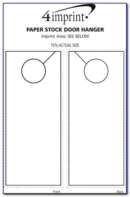 Door Hanger Template Editable