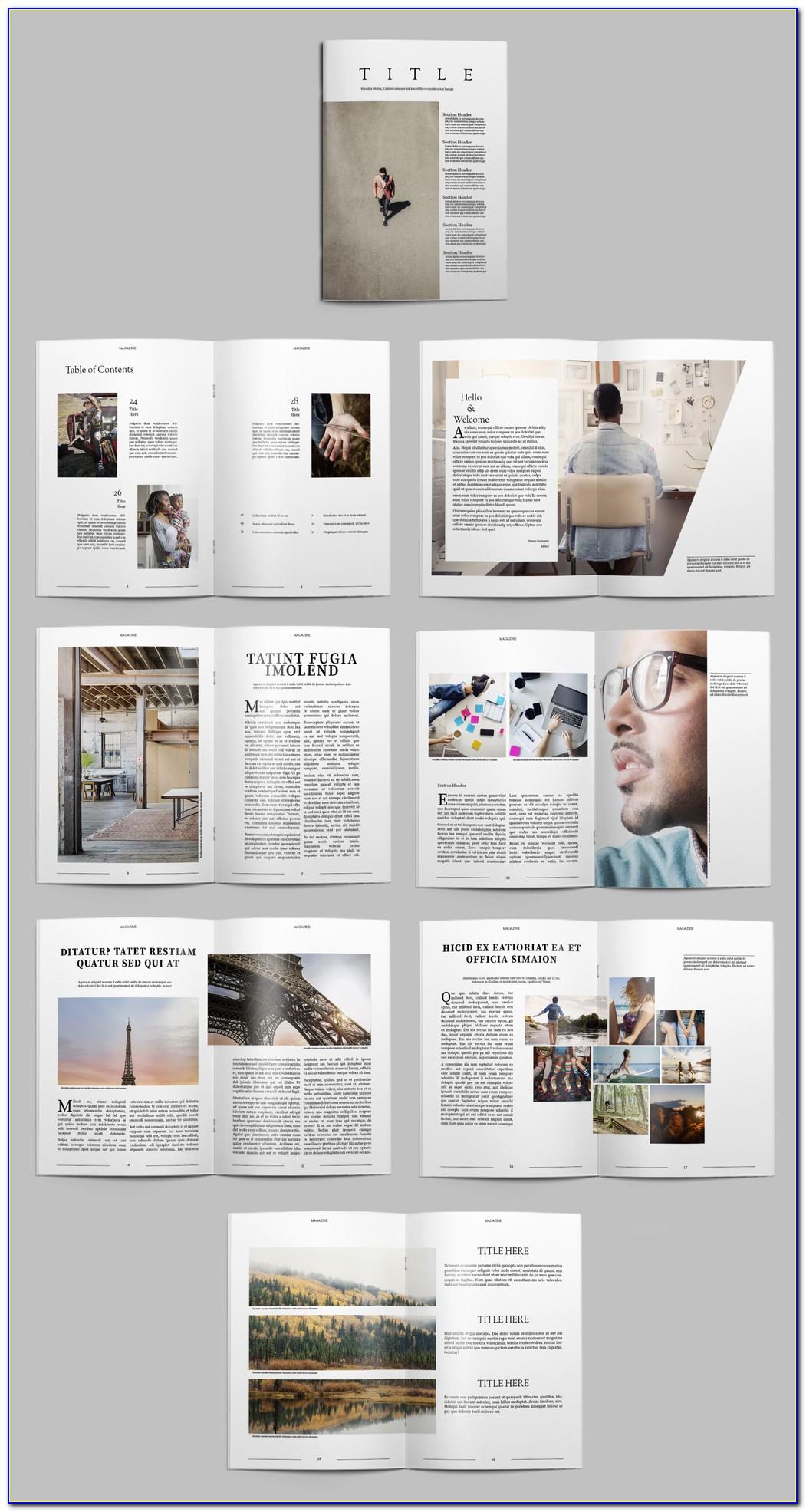 Download Free Indesign Templates Brochure