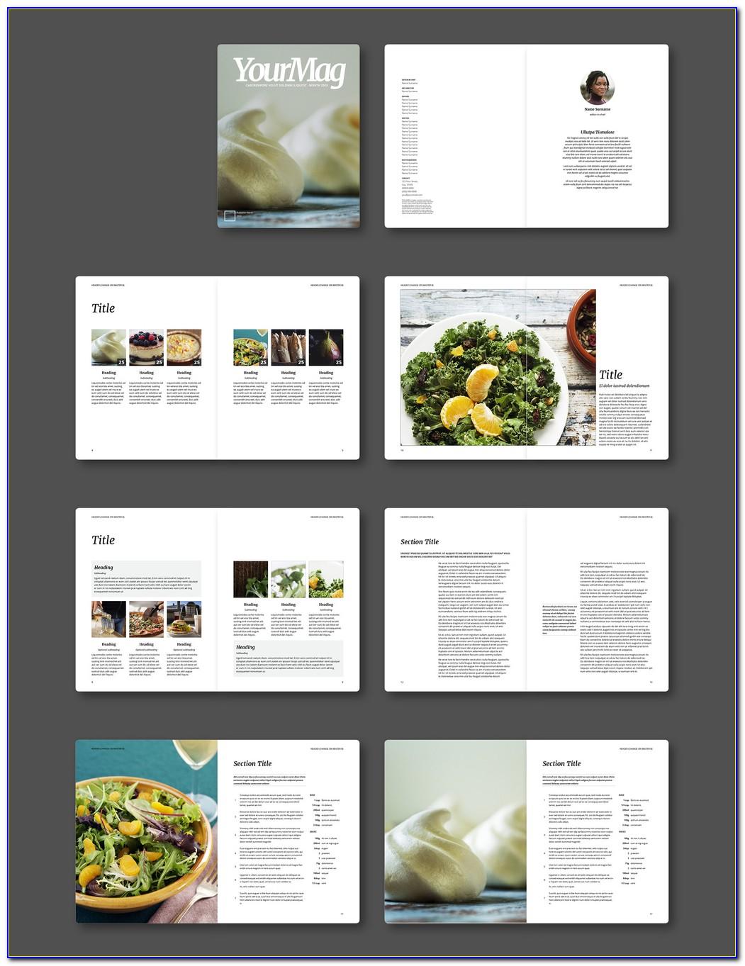 Download Free Indesign Templates Magazine