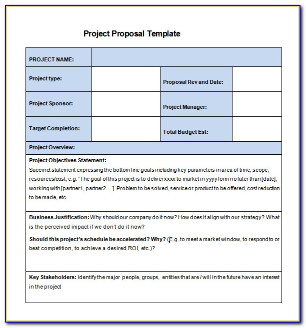 Download Free Proposal Templates